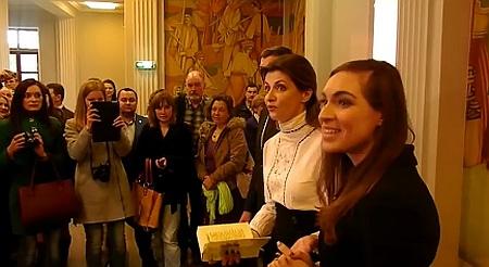 """Перша леді розчарувала мережу декламуванням """"Заповіту"""" Шевченка (відео)"""
