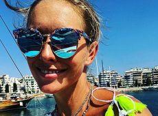 Зіркове подружжя Катерина Осадча і Юрій Горбунов показали свій відпочинок у Греції (фото)