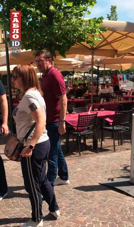 Ни спрятаться, ни скрыться: Луценко засекли на отдыхе в Италии