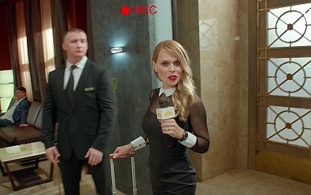 Українська телеведуча Ольга Фреймут знялась уросійському серіалі