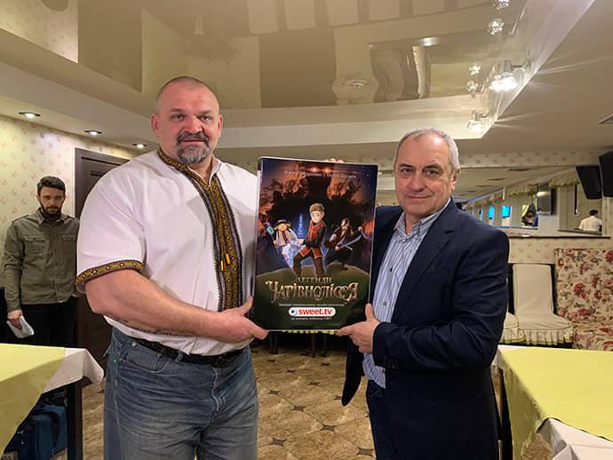 Віктор Андрієнко та Василь Вірастюк