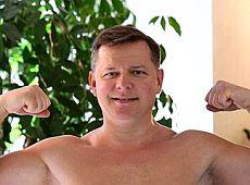 Ляшко показав голий торс після тренувань (фото)