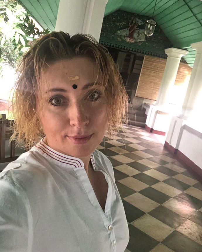 У сарі та без мейкапу: Тігіпко показала свої канікули в Індії (фото)