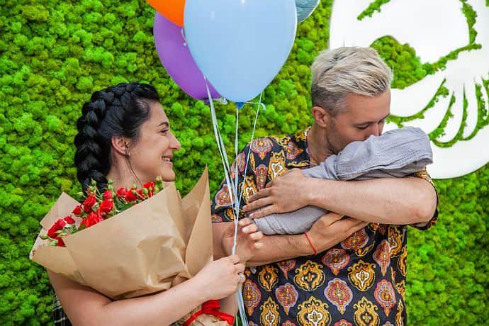 Бабкіни похрестили 2-місячного сина (фото)